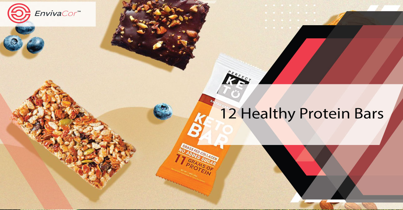 Here Are The 12 Healthy Protein Bars