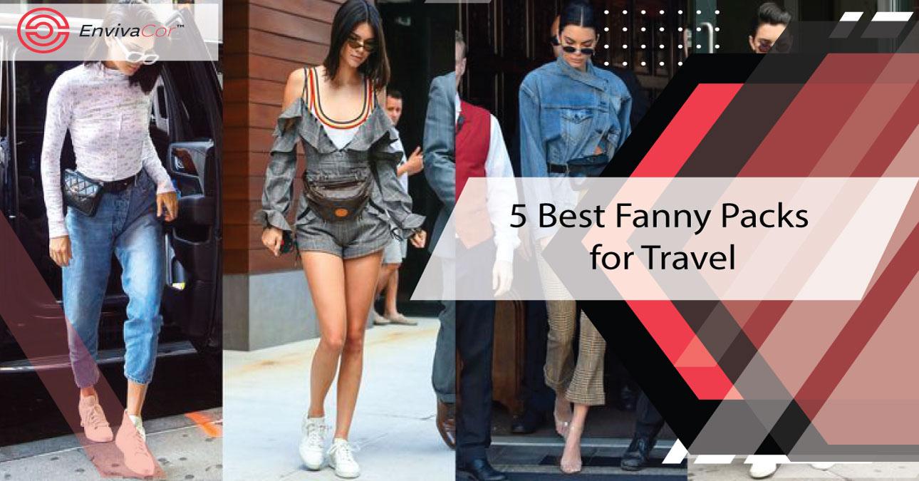 5 Best Fanny Packs for Travel