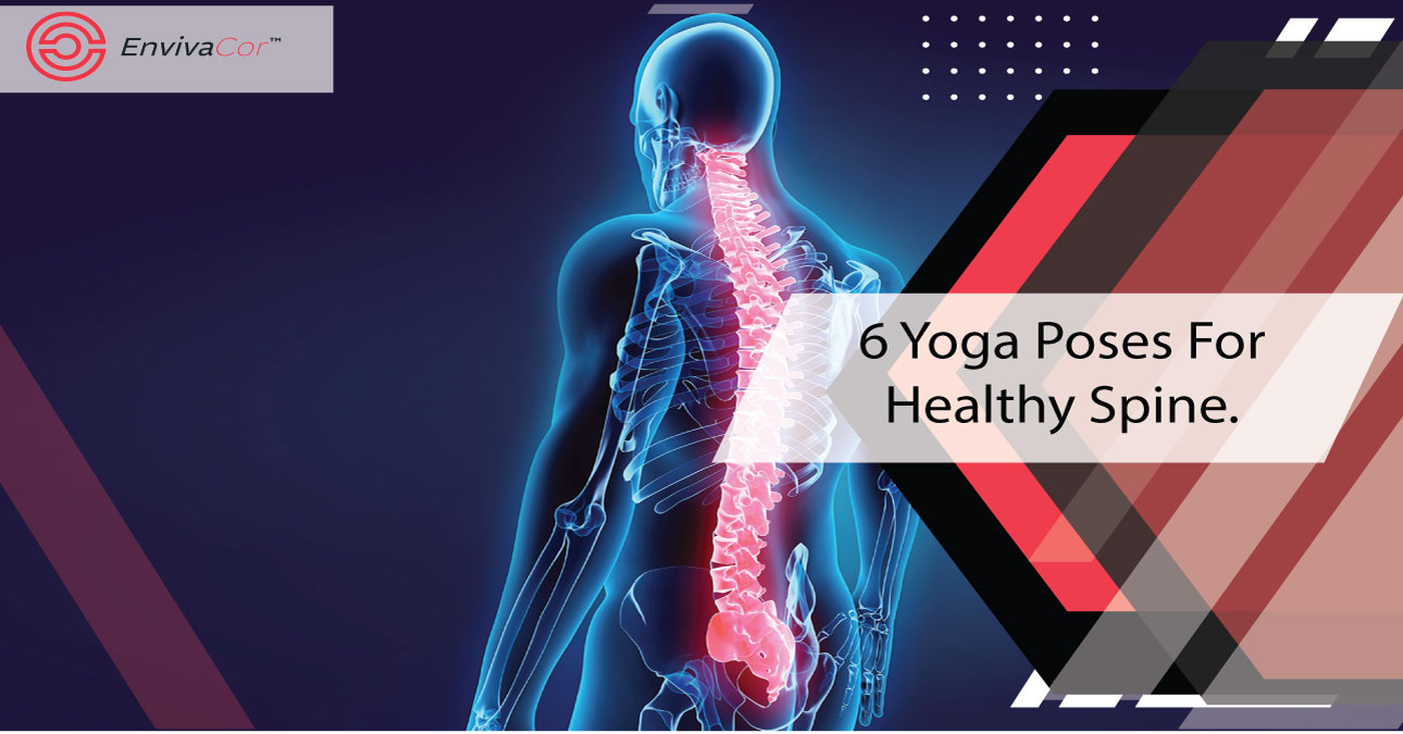 6 Yoga Poses For Healthy Spine.