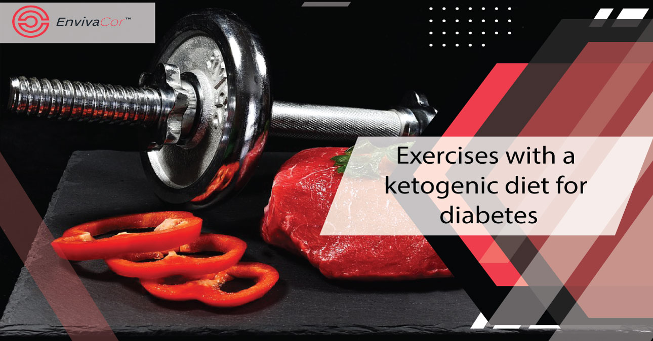 Exercises with a ketogenic diet for diabetes