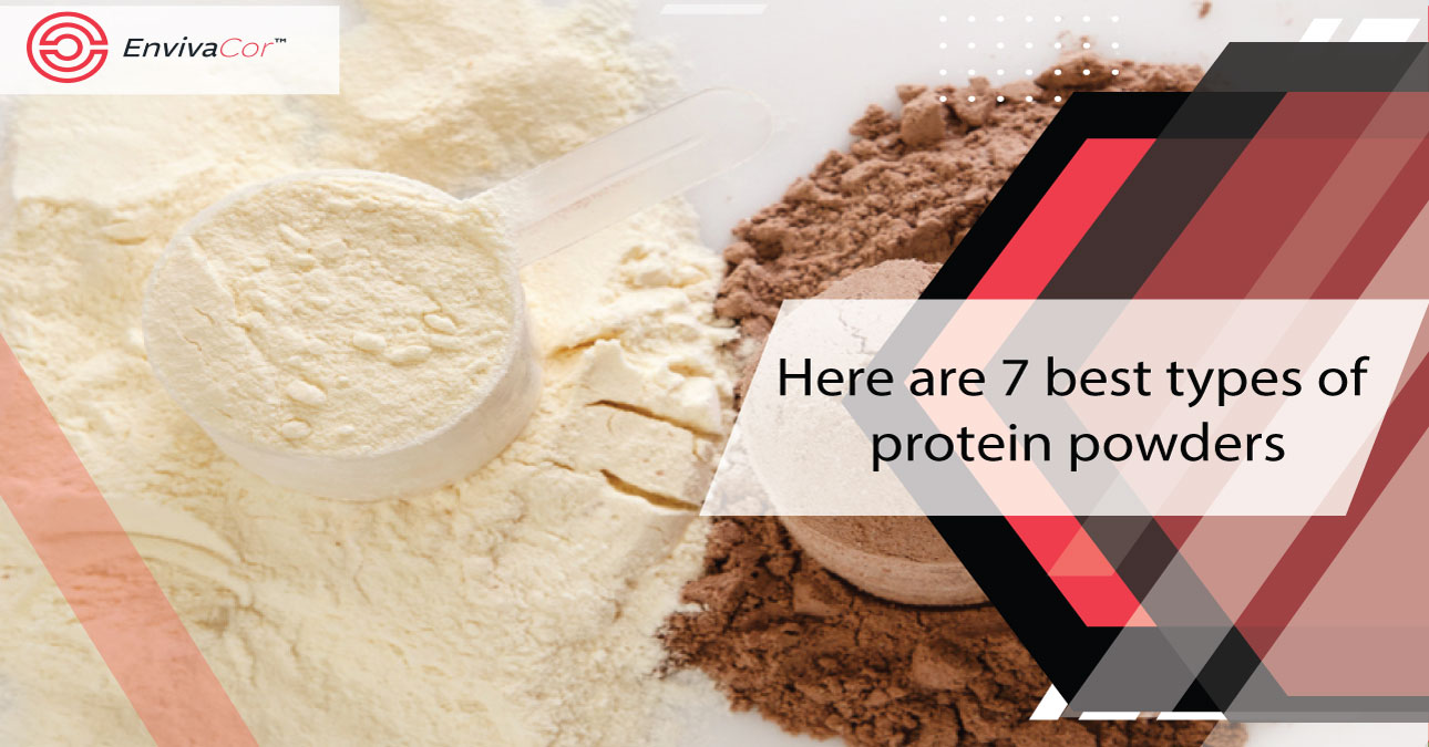 Here are the 7 best types of protein powders.