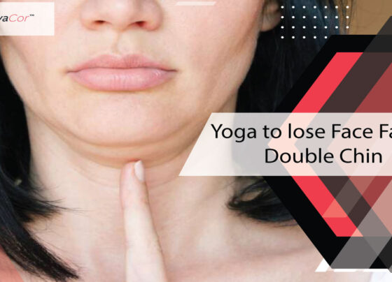 Yoga to lose Face Fat or Double Chin