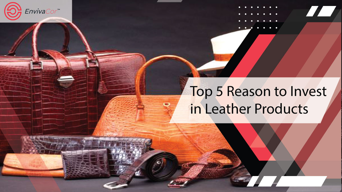 Top 5 Reason to Invest in Leather Products
